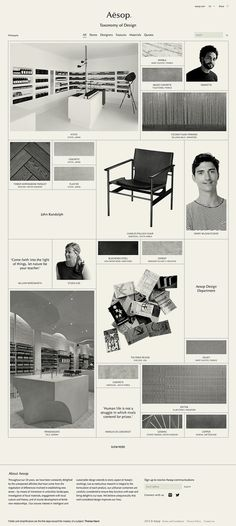 Aesop: Taxonomy of Design