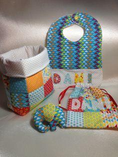 Set de tela para bebe