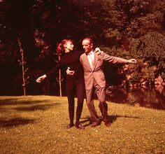 """Audrey Hepburn and Fred Astaire during the production of Funny Face near Chantilly, France, June 1956 """" """"I just told my agent to forget all other projects for me. I was waiting for Audrey Hepburn. She asked for me, and I was ready. Audrey Hepburn Funny Face, Audrey Hepburn Photos, Golden Age Of Hollywood, Classic Hollywood, Old Hollywood, Hollywood Images, Hollywood Glamour, Fred Astaire, I Look To You"""