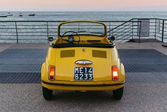 Fiat 500 Cabrio, Vespa, Old Cars, Cars And Motorcycles, Vintage Cars, Vehicles, Estate, Transportation, Wheels