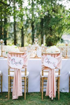 Gold and Pink Napa Wedding - MODwedding