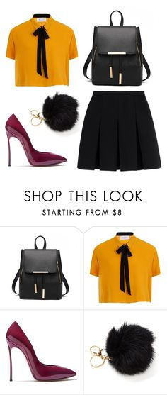 """Без названия #4"" by piksaevama on Polyvore featuring мода, Elvi, Casadei и Alexander Wang"