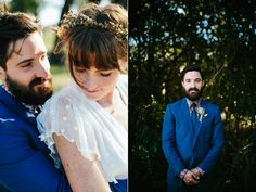 wedding portraits - photo by Love Katie and Sarah http://ruffledblog.com/relaxed-backyard-australian-wedding