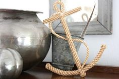 Hand crafted Straw Anchor