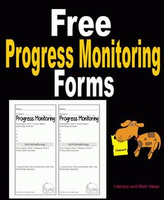 Free Student Self Monitoring Forms