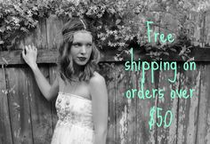 Free shipping on all orders of $50 or more! #FASHION #BOUTIQUE #FREESHIPPING #CLOTHING #STYLE #OOTD #SHOPPING #TRENDS #SPRING #SUMMER