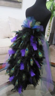 Peacock costume by eddie