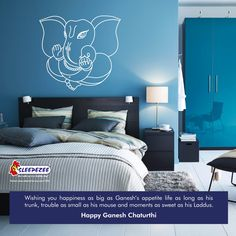 Wishing you all a very Happy Ganesh Chaturthi.  www.sleepezee.com  #ganesh #chaturthi #sleepezee #mattress #india