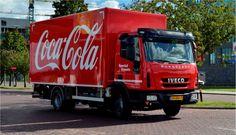 Dit is een voorbeeld van vervoer van coca-cola nu. Alles wordt in 1 vrachtwagen gedropt,en doorvervoert naar de bestemming waar het moet zijn. (ECONOMIE)