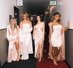 """singasong17: """"Fifth Harmony at Backstage #PCAs 😘 """""""