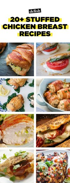20+ Easy Stuffed Chicken Breast Recipes That are Easy and Delicious—Delish.com