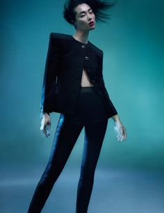 Sung Hee Kim by Benjamin Lennox for Numero China No.35, December 2013.