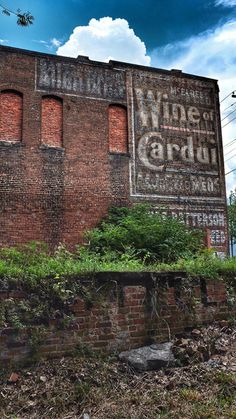 McElree's Wine of Cardui for Women ghost sign – Chattanooga, TN