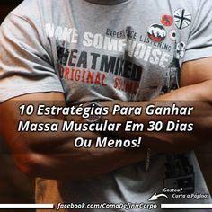 10 Estratégias Para Ganhar Massa Muscular Em 30 Dias Ou Menos!   ➡ https://segredodefinicaomuscular.com/10-estrategias-para-ganhar-massa-muscular-em-30-dias-ou-menos/  Se gostar do artigo compartilhe com seus amigos :) #bomdia #goodmorning #ganharmassamuscular #bodybuilder #bodybuilding #EstiloDeVidaFitness #ComoDefinirCorpo #SegredoDefiniçãoMuscular