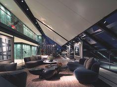 luxury london penthouse neo bankside with panaromic views across London Luxury Homes Interior, Luxury Home Decor, Interior Architecture, Mansion Interior, Room Interior, Penthouse London, Luxury Penthouse, Penthouse Apartment, Sofa Design