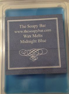Deliciously Fragrant, Fun and USEFUL wedding favors for a blue wedding palette \\ Photo Credit: The Soapy Bar #bluewedding #weddingfavors #waxmelt www.thesoapybar.com