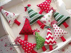 badian / Vianočné stromčeky ( sada 10ks)