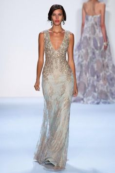 Love the color, maybe not the blinggy top so much. The Cut Spring 2014 - Badgley Mischka Collection