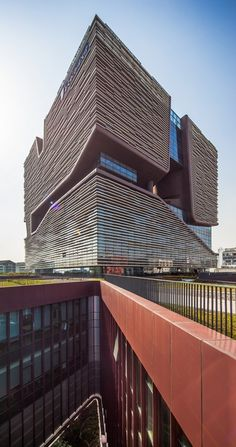 Xi'an+Jiaotong-Liverpool+University+Administration+Information+Building+/+Aedas - Courtesy of Aedas