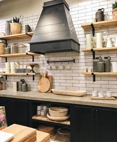 farmhouse kitchen 811914639053684309 - Farmhouse & Cottage Decor At Nordstrom – Farmhouse Kitchen Decor, Home Decor Kitchen, Kitchen Interior, New Kitchen, Kitchen Dining, Farmhouse Style, Rustic Farmhouse, Farmhouse Sinks, Kitchen Ideas