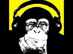 Hip Hop Monkey print.
