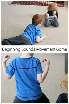 Beginning Sounds Movement Game