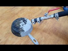 Homemade Sandblaster - YouTube Best Air Filter, Blacksmith Tools, Homemade Tools, Popular Mechanics, Woodworking Workbench, Welding Projects, Plant Decor, Blacksmithing, Tool Box