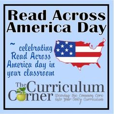Read Across America Day Celebration - printables and activities for your classroom | FREE from The Curriculum Corner | Bookmarks & more!