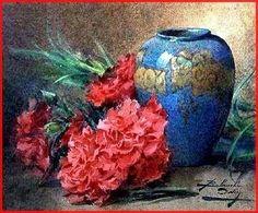 au paradis des images - Page 2 Gouache, Carnations, Dahlias, Art Graphique, Nom Nom, Images, San, Watercolor, Inspiration