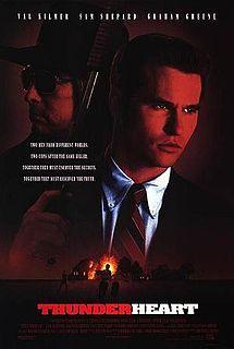 Thunderheart- Starring: Val Kilmer and Sam Shepard (April 3, 1992)
