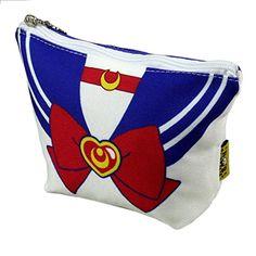 Anime Sailor Moon Purse Cosplay Costume Makeup Bag Girl Cosmetic Pencil Case