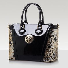 (33.08$)  Watch now - http://ai1ri.worlditems.win/all/product.php?id=32787371736 - 2017 Shoulder Bags Crossbody Brand New Fashion Patent Leather Women Handbag Messager Elegant Luxury Ladies Black Tote Famous  Q3