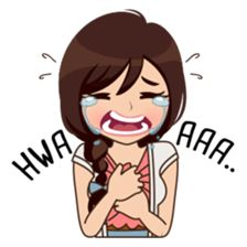 About Alice sticker Love Cartoon Couple, Cute Cartoon Girl, Cartoon Girl Drawing, Emo Pictures, Cute Cartoon Pictures, Cute Love Stories, Cute Love Images, Emoji Love, Funny Spanish Memes