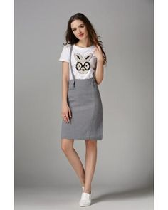 AB71108 Stylish Skirt Grey  Market Price: £ 20.35 Price: £ 10.29 Registered users: £ 10.29 Weight: 350g more:http://www.zafirah7.com/goods-13346-AB71108+Stylish+Skirt+Grey.html