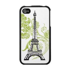 Eiffel Tower iPhone Case by SBCSTUDIO