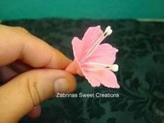 МК Петуния, Gum Paste Petunia flower tutorial, Petunie