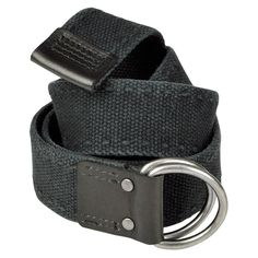 Timberland Cotton Web Belt - Black. $22