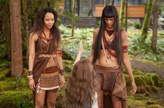 (L-R) TRACEY HEGGINS and JUDITH SHEKONI star in THE TWILIGHT SAGA: BREAKING DAWN-PART 2    Ph: Andrew Cooper, SMPSP  © 2011 Summit Entertainment, LLC.  All rights reserved.
