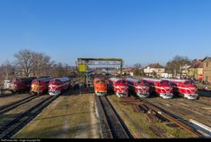 Net Photo: 019 Hungarian State Railways (MÁV) Nohab GM at Tapolca, Hungary by Balázs Bálint Holland, Train Truck, Locomotive, Hungary, Automobile, Trains, Belgium, France, The Nederlands