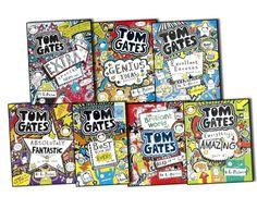 Tom Gates series by Liz Pichon   #Young #Teenage #Books