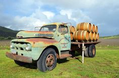 Sanford Winery Rancho La Rinconada Truck: Sanford Winery: The Role of Barrels in Chardonnay and Pinot Noir Country