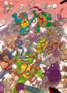 Teenage mutant ninja turtles by *OSK-studio on deviantART