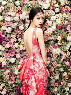 Kwak Ji Young in Phuong My Collection photographed by Zhang Jingna