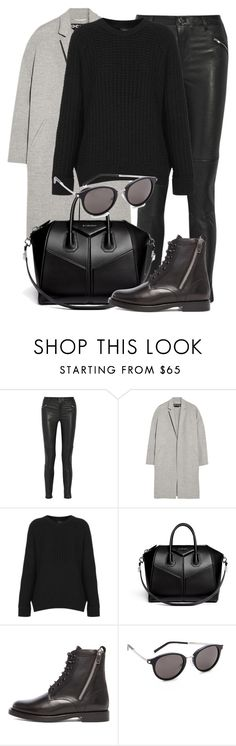 """Untitled #1897"" by annielizjung ❤ liked on Polyvore featuring BLK DNM, Rochas, Topshop, Givenchy and Yves Saint Laurent"