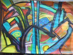 Foil rough by Hel Mort Art #helmort #helmortart #art #contemporaryart #painting #abstract #amazing #true #tribute #love