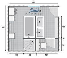10 Idees De Plans Pour Grandes Salles De Bain De 7m2 A 13m2 Plan Salle De Bain Salle De Bain Grand Tapis De Bain
