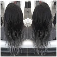 grey ombre hair                                                                                                                                                     More