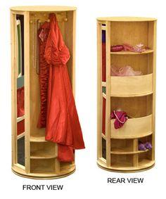 Dress-up Carousel (natural) - CLUTTER FREE KIDS