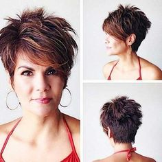 New Short Hairstyles for Long Faces Women Short Hairstyles for Long FacesWomen Short Hairstyles for Long Faces Cute Hairstyles For Short Hair, Short Hair Cuts For Women, Hairstyles Haircuts, Curly Hair Styles, Pixie Haircuts, Layered Hairstyles, Short Cuts, Latest Hairstyles, Quick Hairstyles