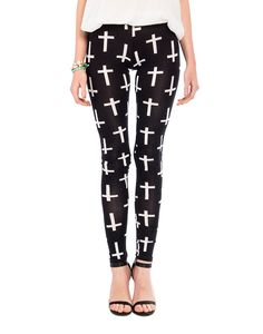 Crosses Leggings- 2020AVE #leggings #crosses